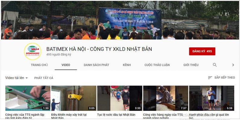 Phát triển kênh youtube xuất khẩu lao động